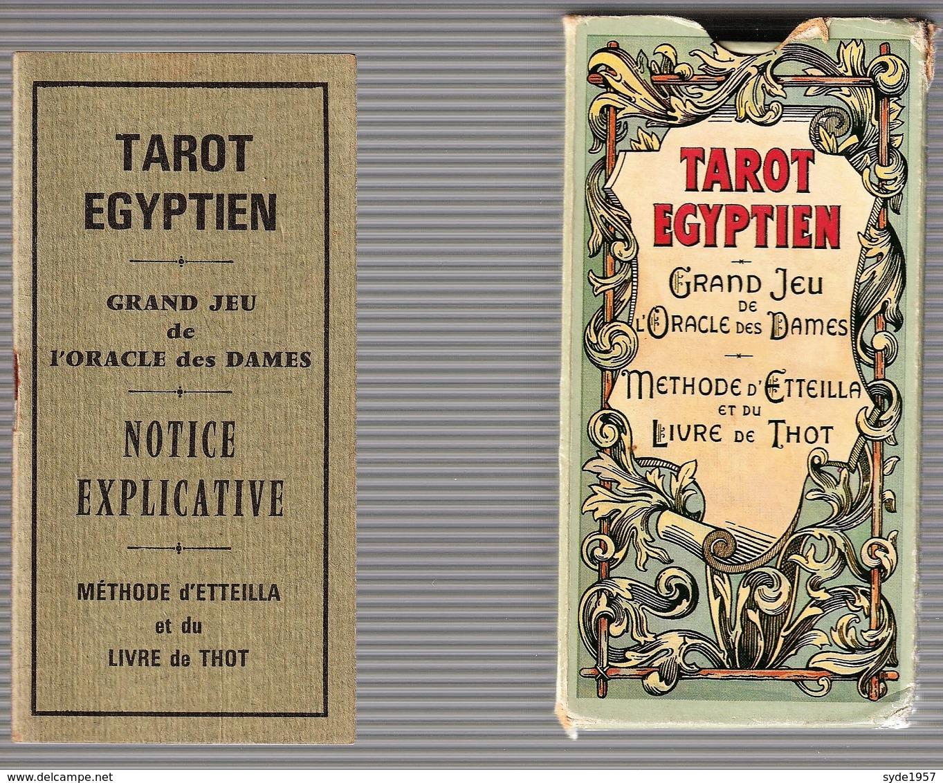 Tarot Egyptien -Editions Dusserre -Paris - Religione & Esoterismo