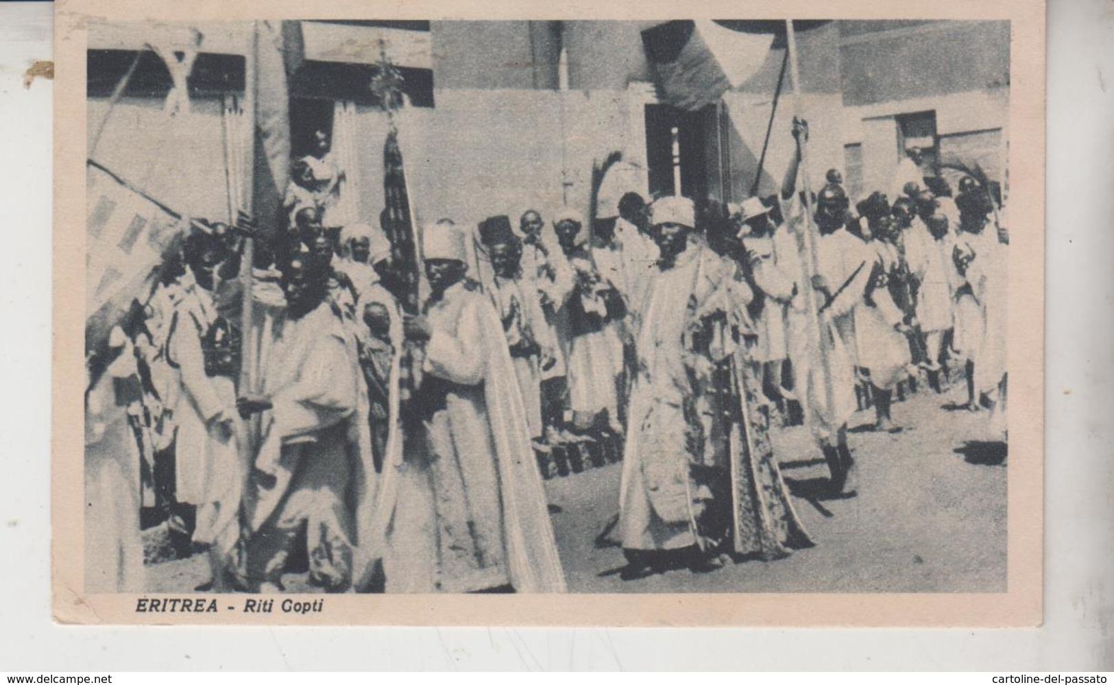 Eritrea Riti Copti Francobollo Stamp - Eritrea