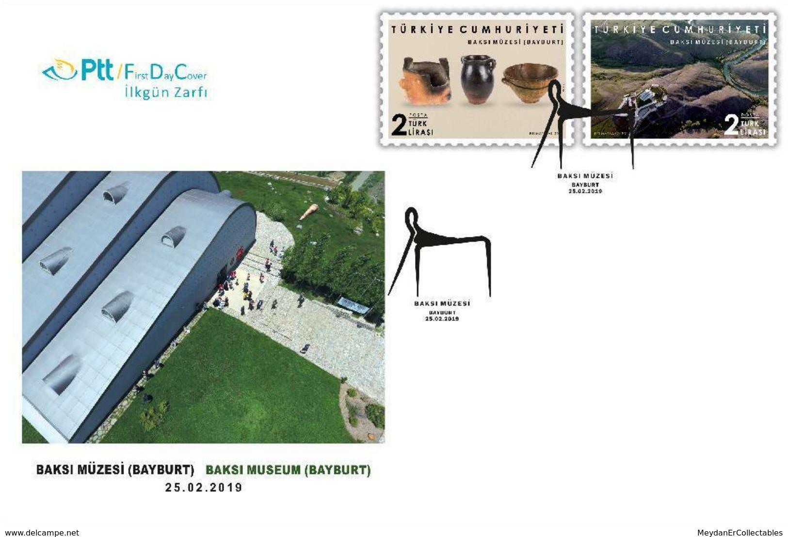 TURKEY/2019 - (FDC) PRINTING MUSEUM (BAYBURT), MNH - Nuevos
