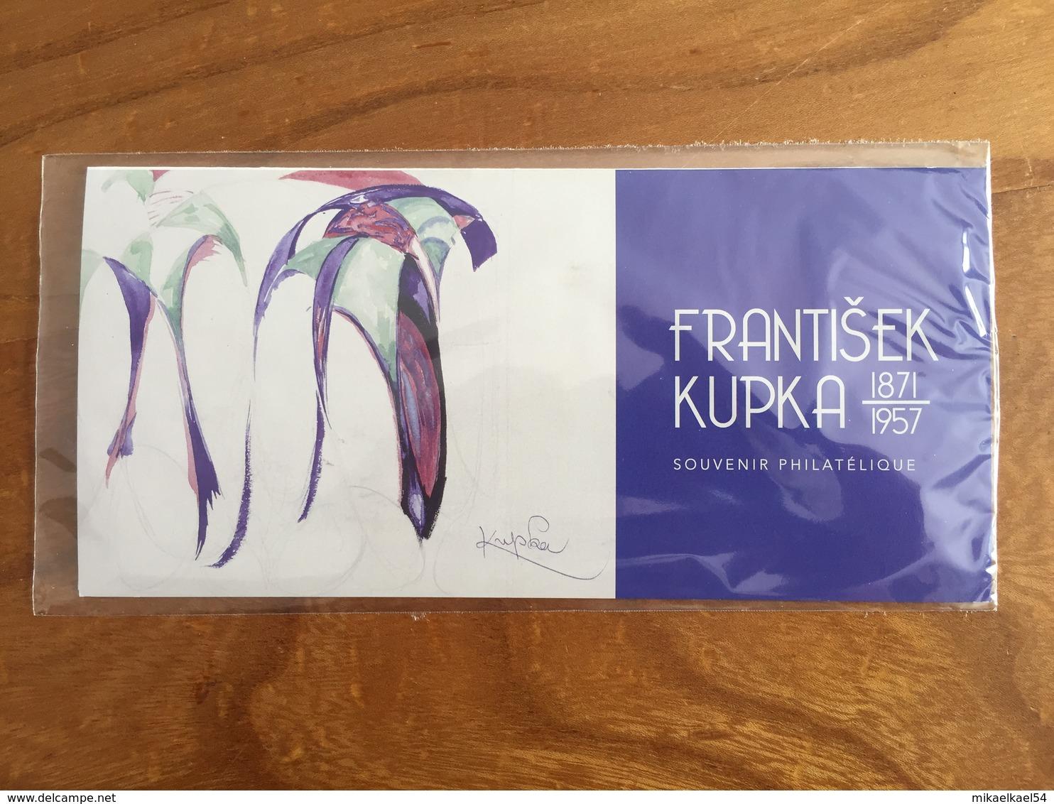 Souvenir Philatélique FRANTISEK KUPKA (1871-1957) - 2018 - Y&T BS 144 - Neuf Sous Blister - Blocs Souvenir