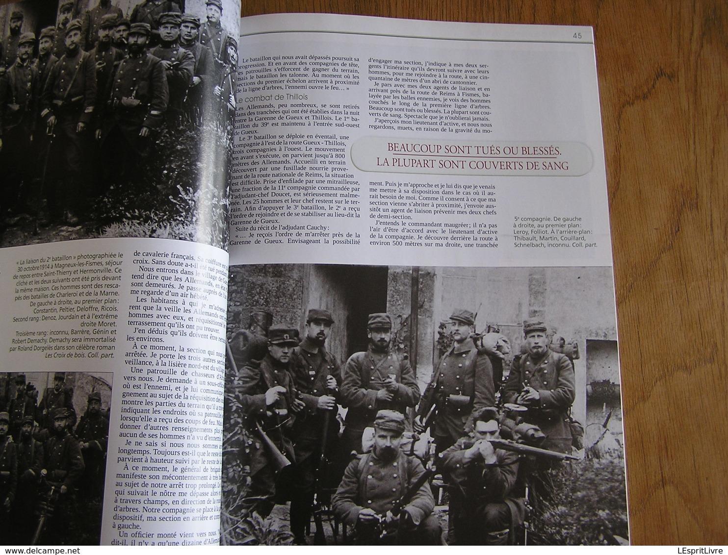 TRANCHEES N° 18 Guerre 14 18 Uhlans Paris Thillois Lagarde Terre Brûlée Retraite Allemande Chars Mark V Troyon Verdun - Guerre 1914-18