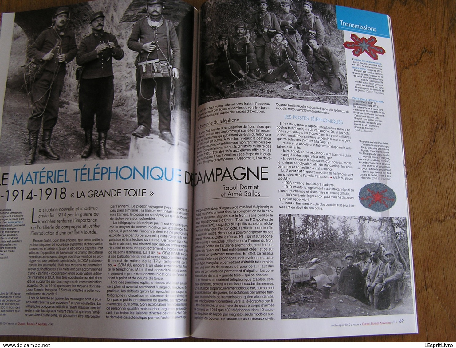 GBM Guerre Blindés Matériel N° 91 Guerre 40 45 Mai 40 Crécy Montcornet Ardennes 2 BCC Automitrailleuse 14 18 Téléphonie - Guerre 1939-45