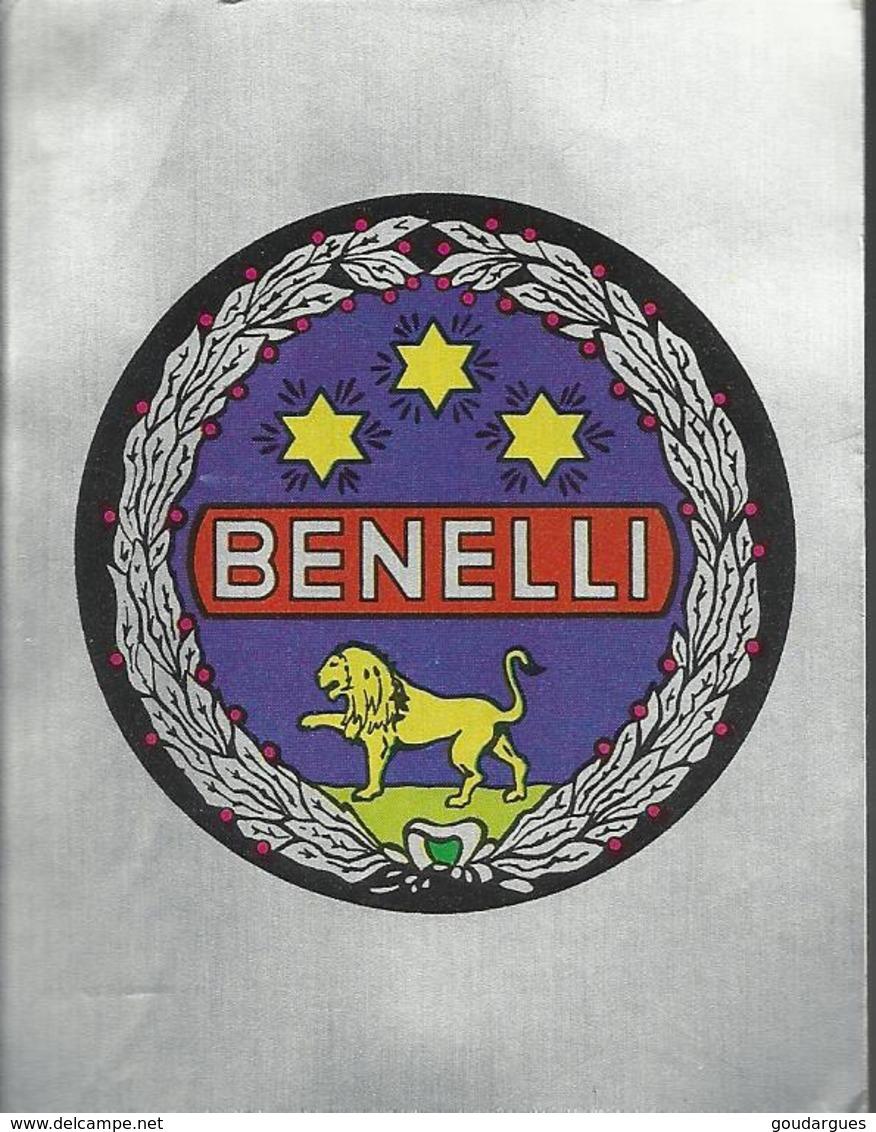 2 Autocollants Panini's - Benelli - Panini
