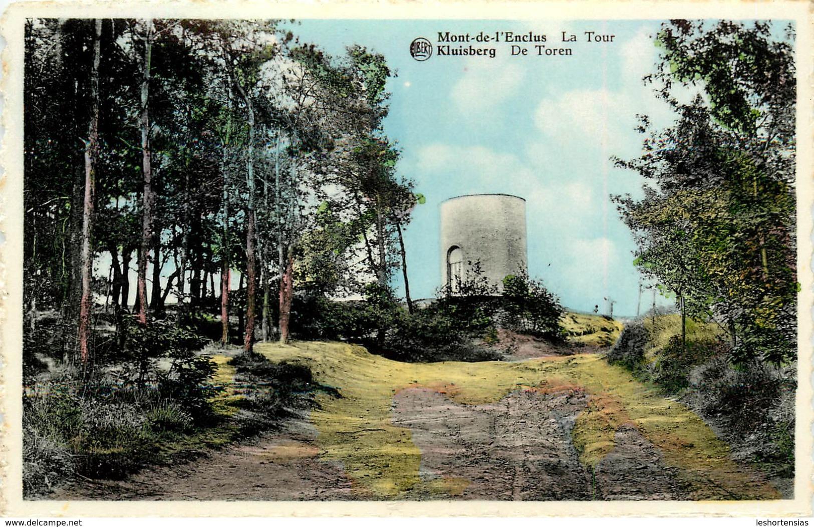 MONT DE L'ENCLUS LA TOUR - Mont-de-l'Enclus
