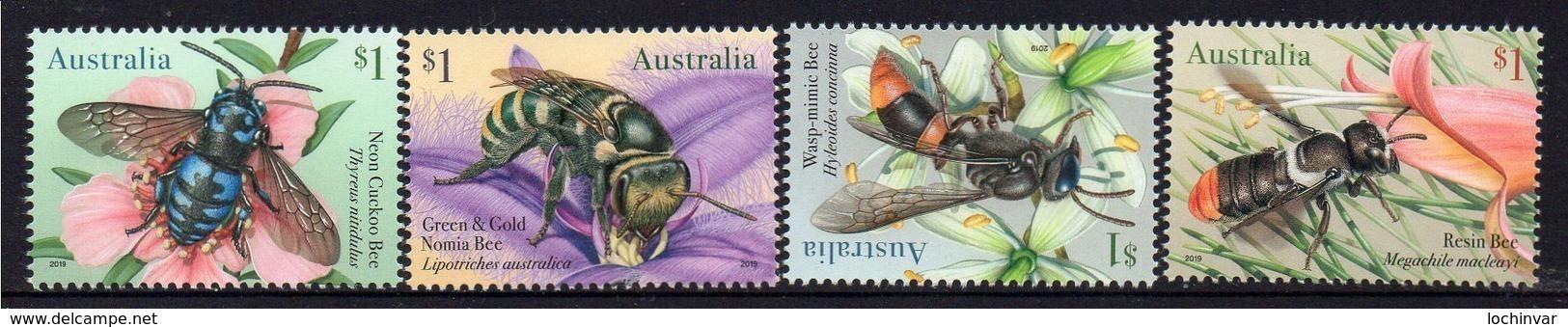 AUSTRALIA, 2019 BEES 4 MNH - 2010-... Elizabeth II