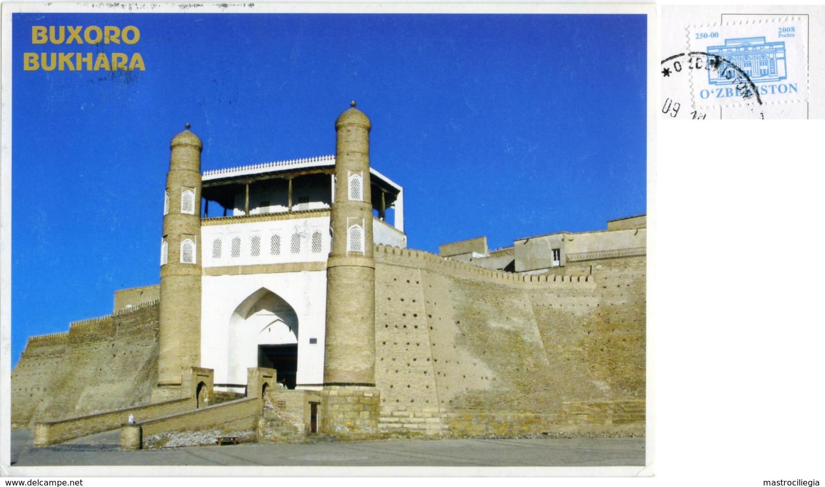 O'ZBEKISTON  UZBEKISTAN  BUXORO  BUKHARA  Fortress Ark  Nice Stamp - Uzbekistan