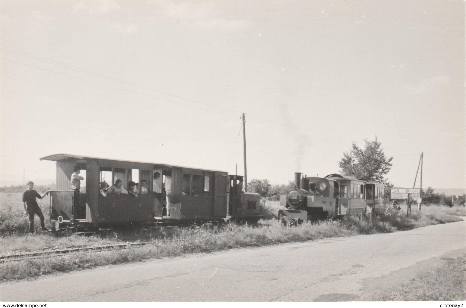 69 MEYZIEU VOIR DOS Chemin De Fer Touristique 2 Trains Locomotive à Vapeur Wagons Pancarte Mont Joyeux  Edition CFTM - Meyzieu
