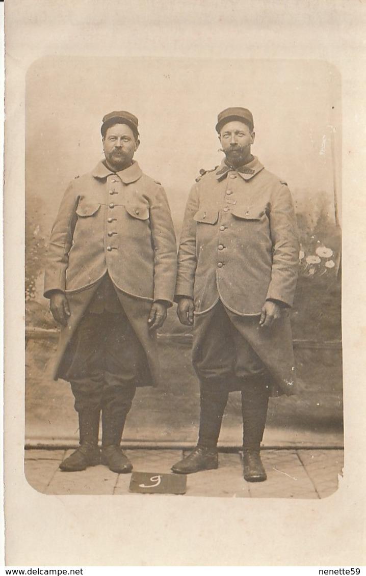 WORMHOUDT Guerre 14-18 -- Rencontre De 2 Frères ( BIGUET Ou BIGUES  ) Pendant Cette Terrible Guerre En 1915 - Guerre 1914-18