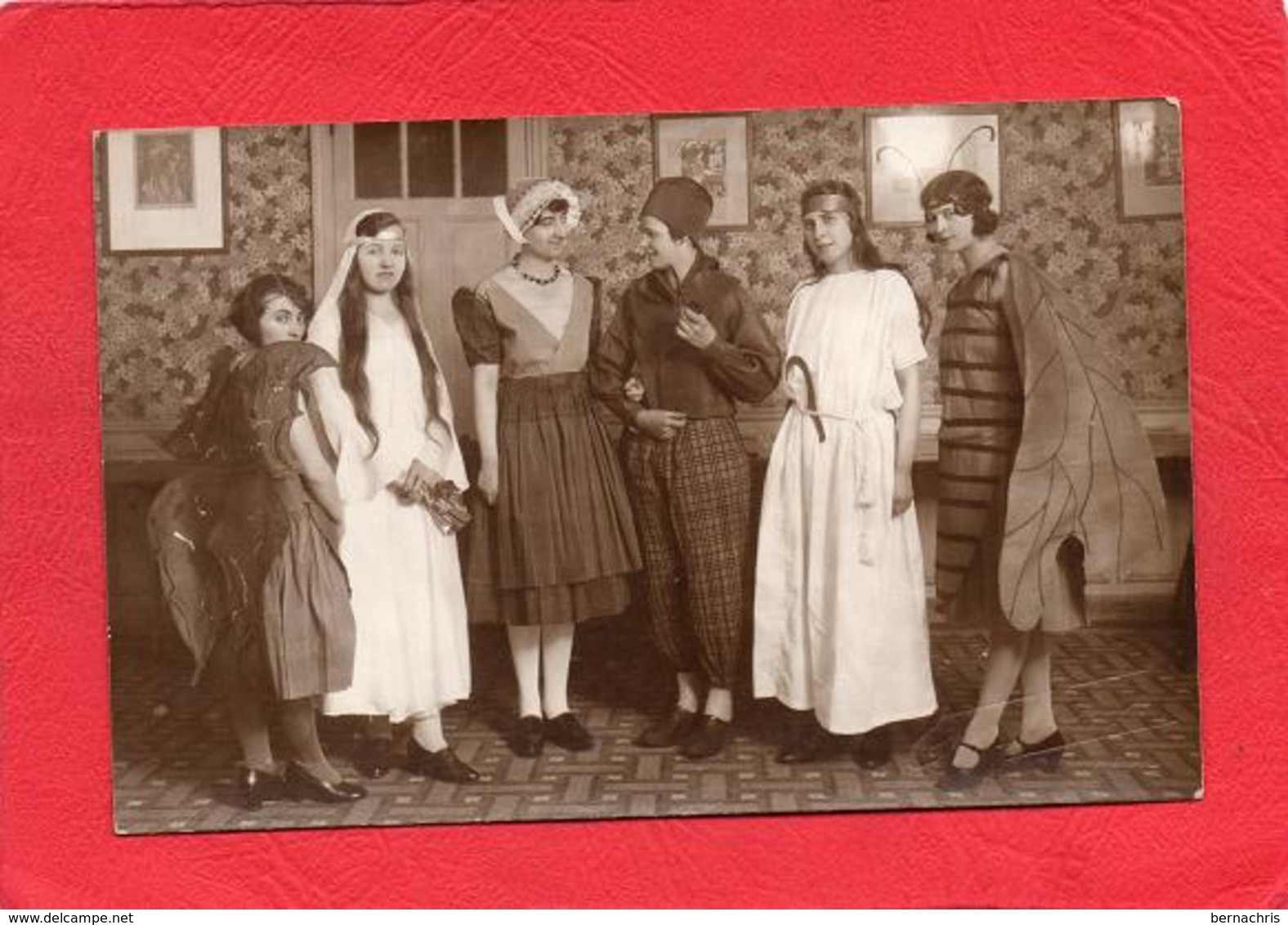 CARTE PHOTO        GROUPE DE PERSONNES - Postales