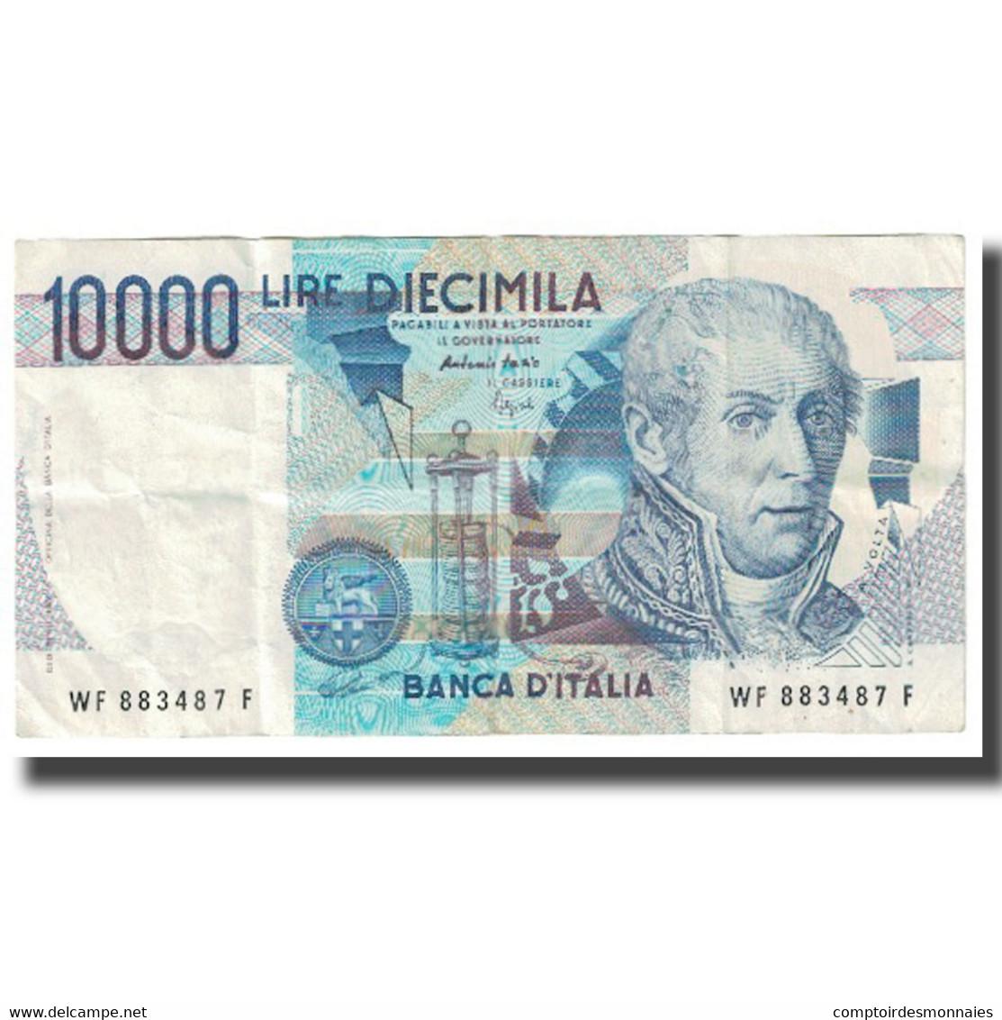 Billet, Italie, 10,000 Lire, 1984, KM:112c, TTB - 10000 Lire