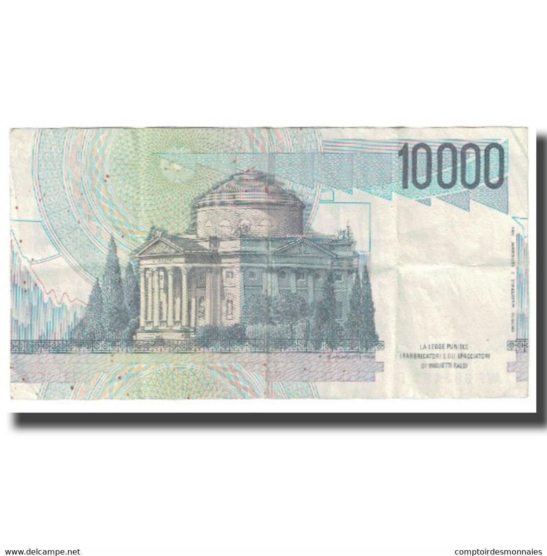Billet, Italie, 10,000 Lire, 1984, KM:112c, TTB - [ 2] 1946-… : République