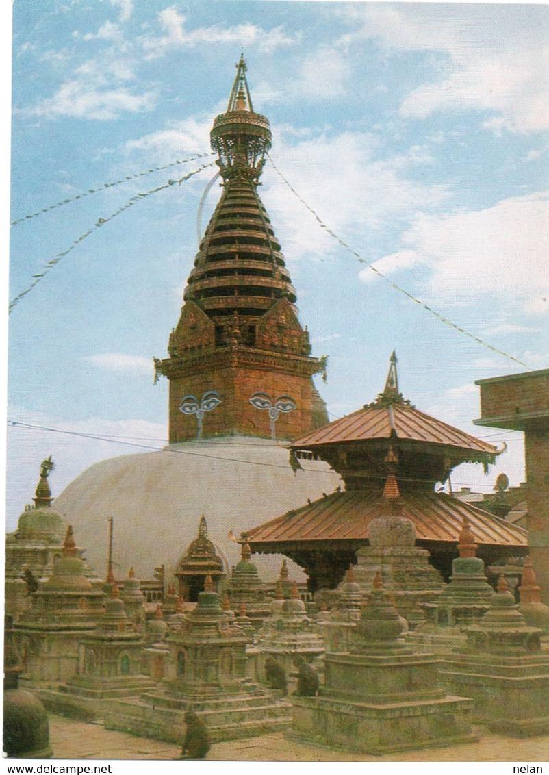 SWOYAMBHU,THE BIGGEST STUA IN THE WORLD-NEPAL- NON VIAGGIATA     FG - Nepal