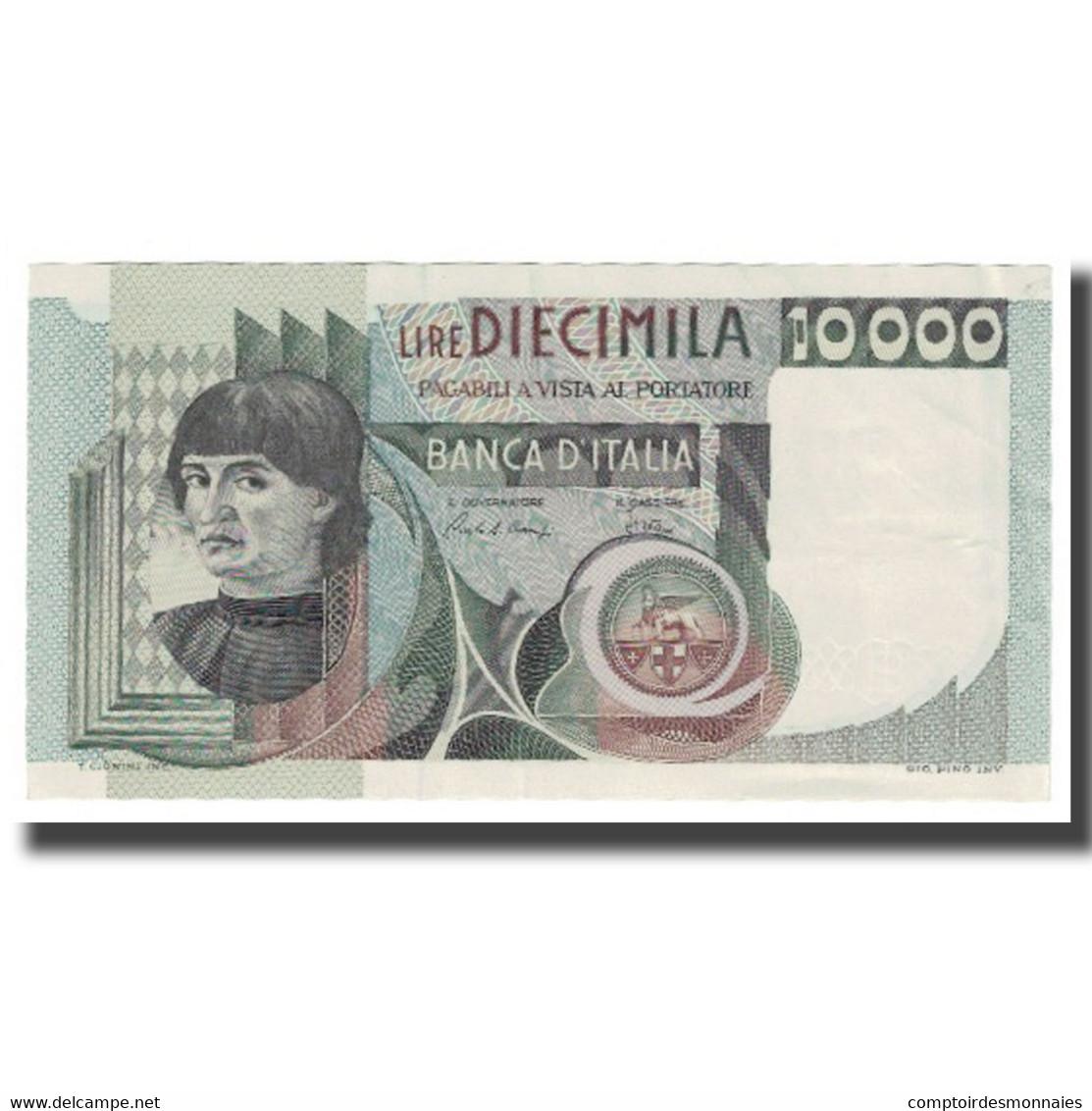 Billet, Italie, 10,000 Lire, 1976, KM:106a, SUP - [ 2] 1946-… : République
