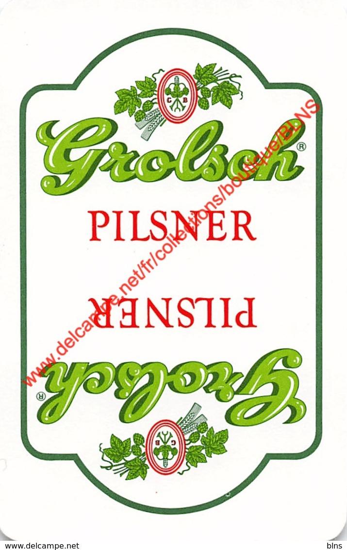GROLSCH Pilsner - 1 Speelkaart - 1 Carte à Jouer - 1 Playing Card. - Cartes à Jouer Classiques