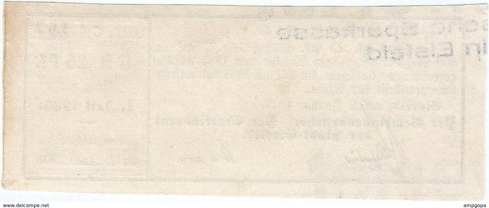 Alemania (BONOS) - Germany 5.25 Mark 1-1-1923 Eisfeld Ref 21 - [ 3] 1918-1933 : Weimar Republic