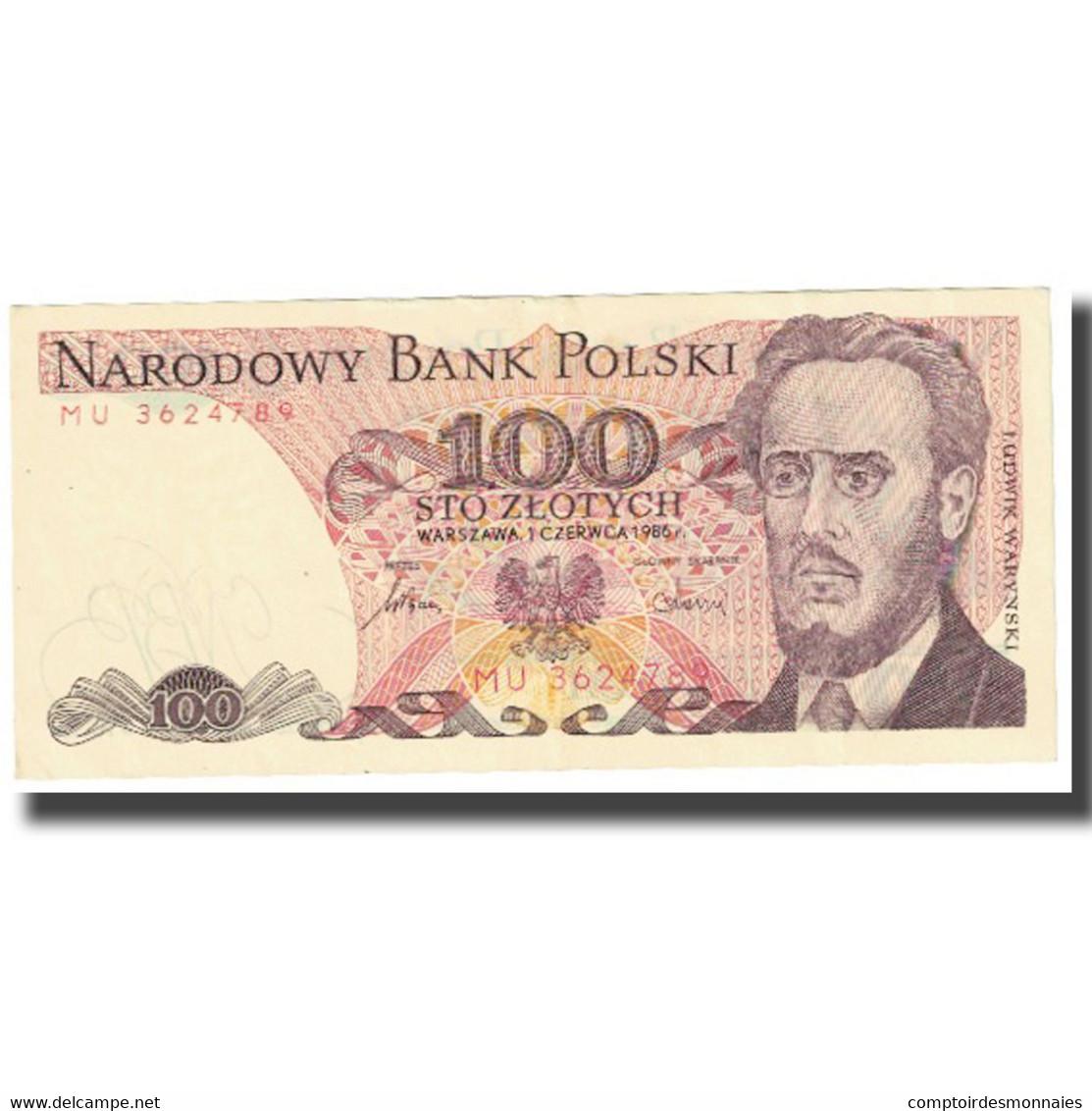 Billet, Pologne, 100 Zlotych, 1986, 1986-06-01, KM:143a, NEUF - Pologne