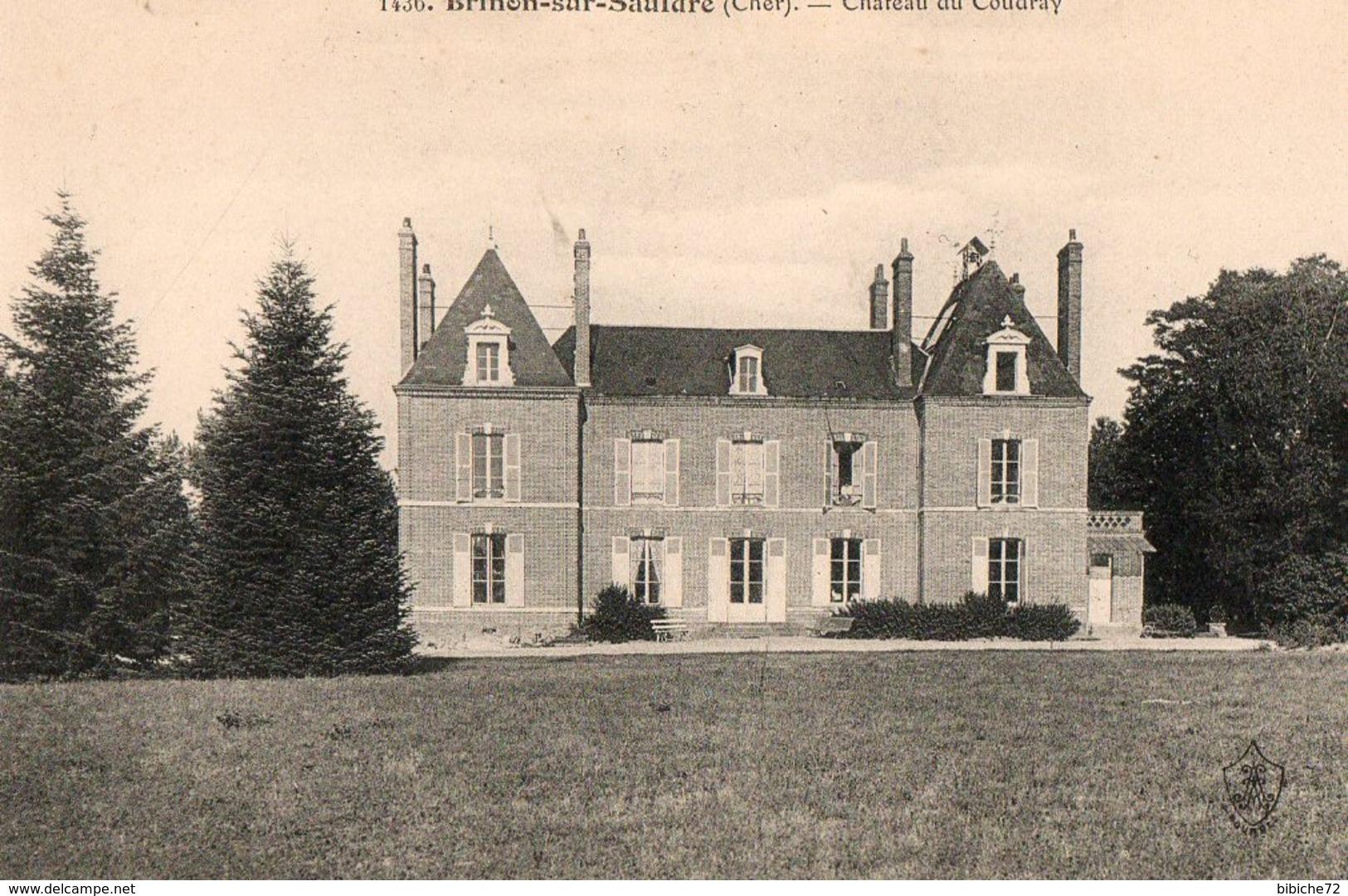 BRINON SUR SAULDRE - Chateau Du Coudray - Brinon-sur-Sauldre