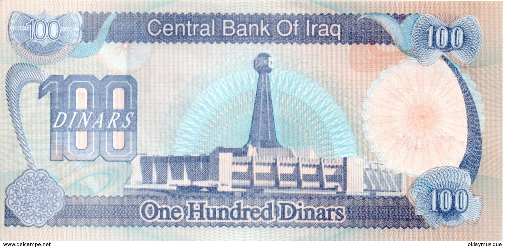 100 Dinars 1994 Neuf - Iraq