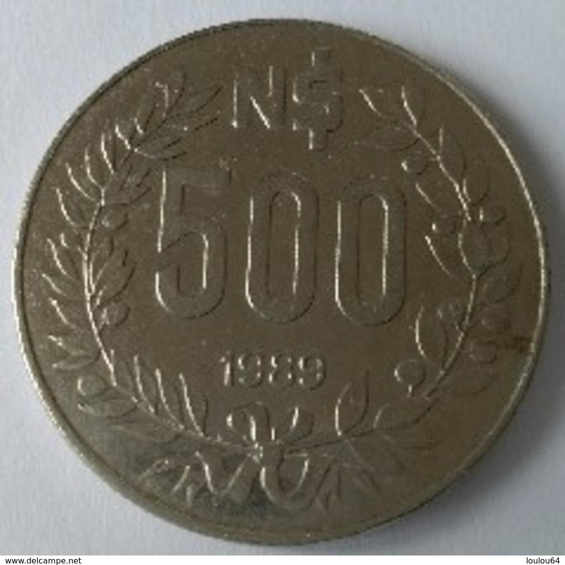 URUGUAY - 500 Nouveaux Pesos 1989 - ARTIGAS - - Uruguay