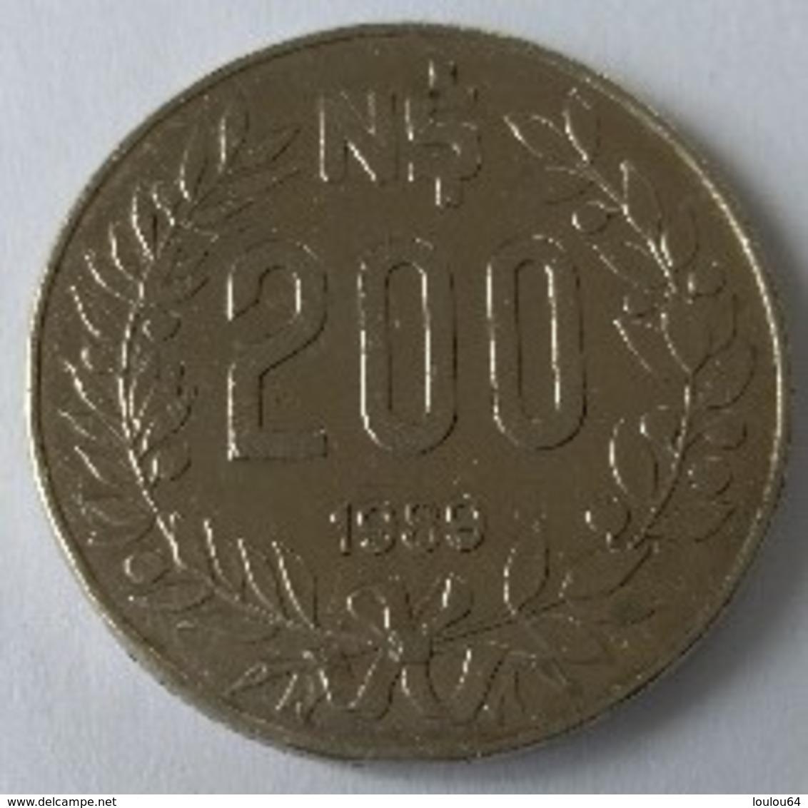 URUGUAY - 200 Nouveaux Pesos 1989 - - Uruguay