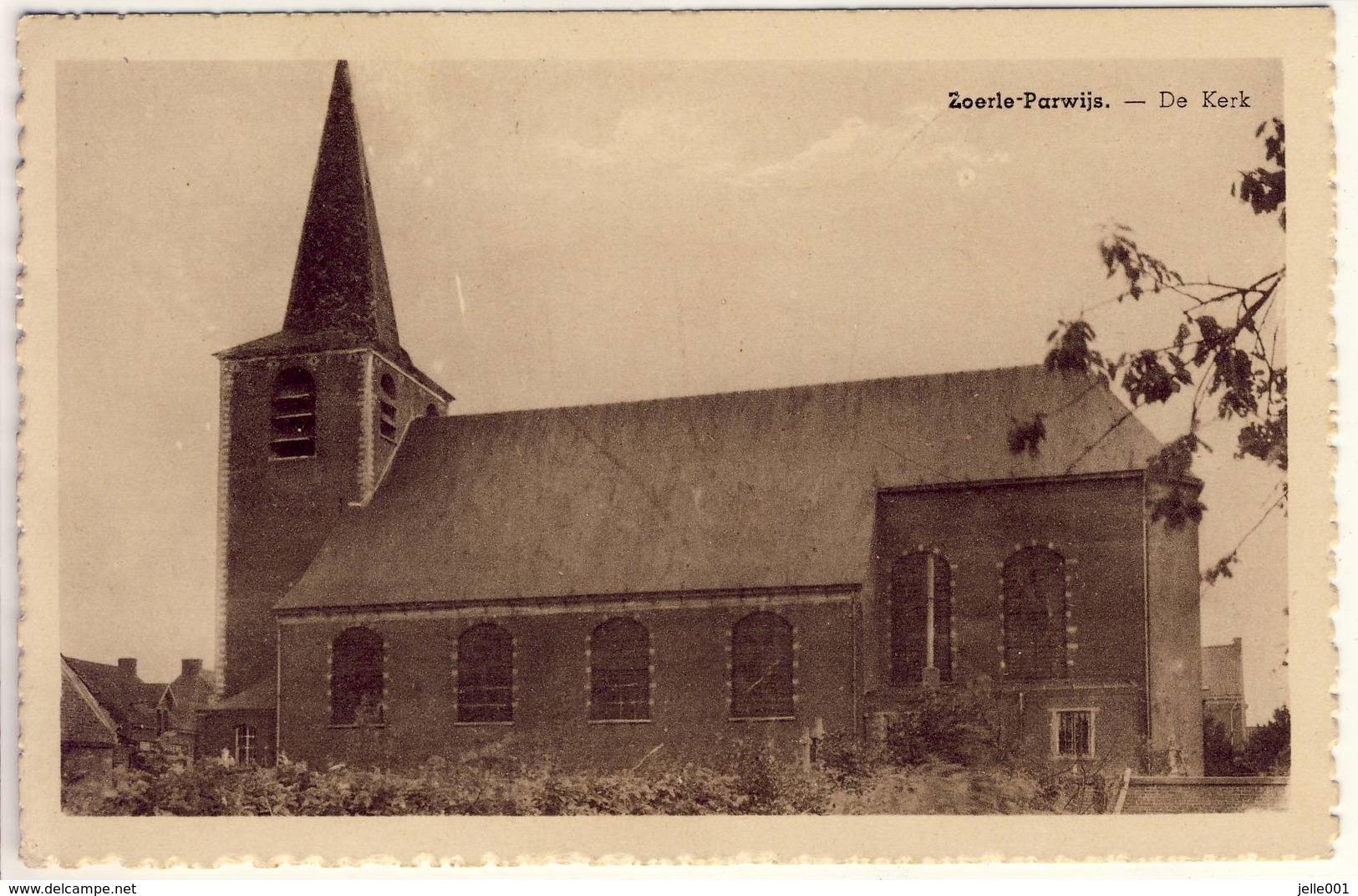 Zoerle-Parwijs Westerlo De Kerk 1948 - Westerlo