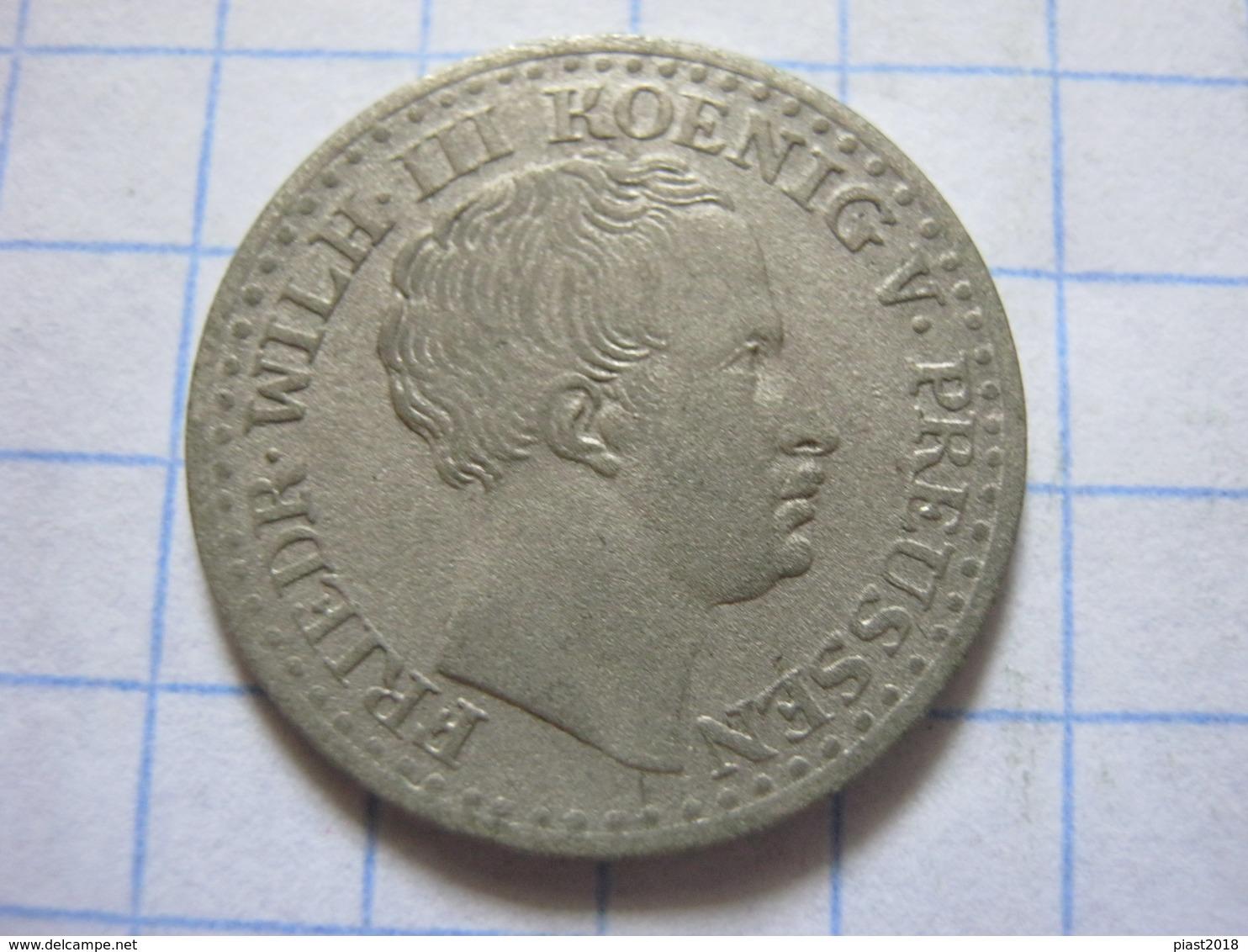 Prussia 1 Silbergroschen 1839 (A) - [ 1] …-1871 : German States