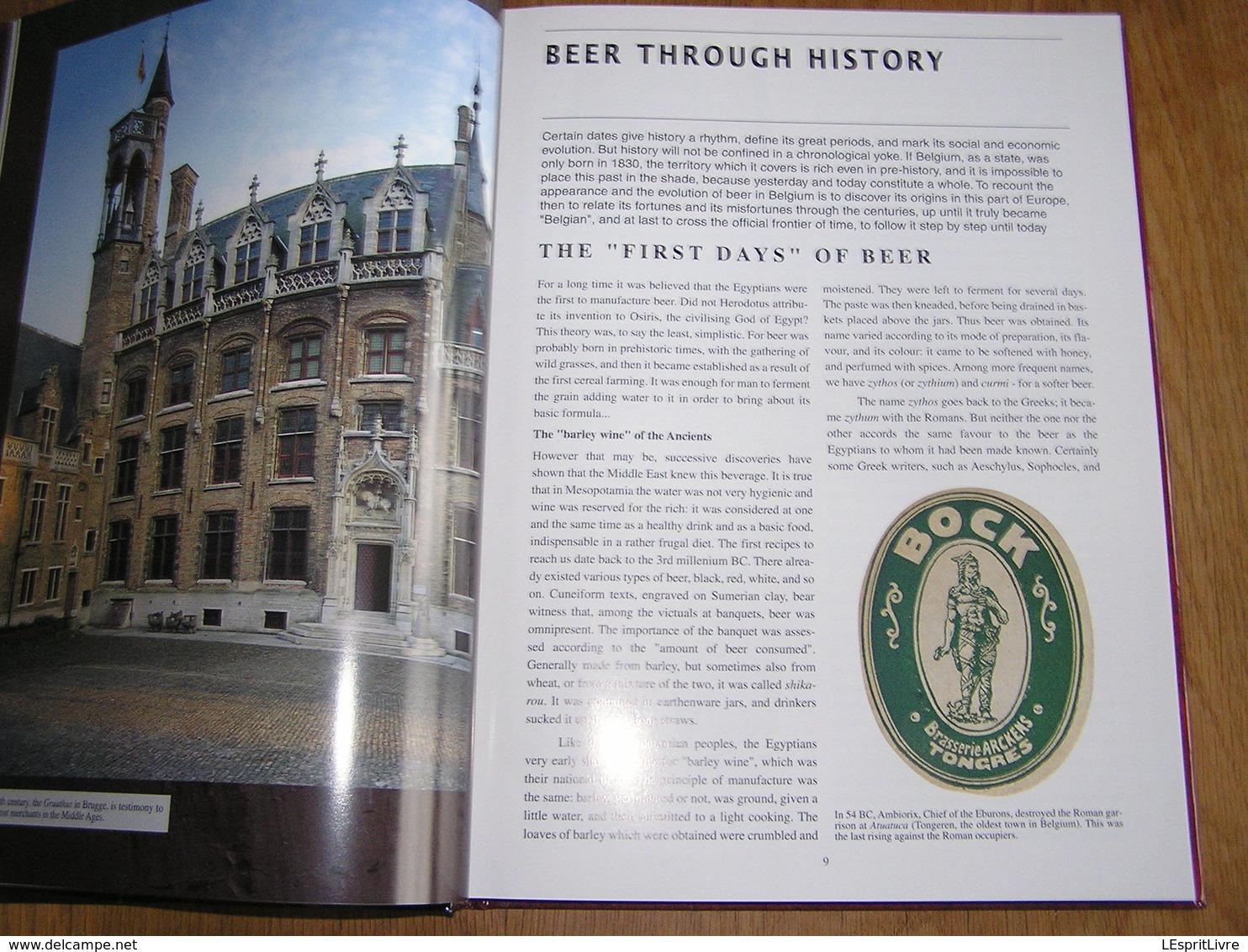BELGIUM BY BEER BEER BY BELGIUM Brasserie Bières Belgique Brasseur Brouwerij Bière Trappiste Abbaye Gueuze Faro Pils - Boeken, Tijdschriften, Stripverhalen