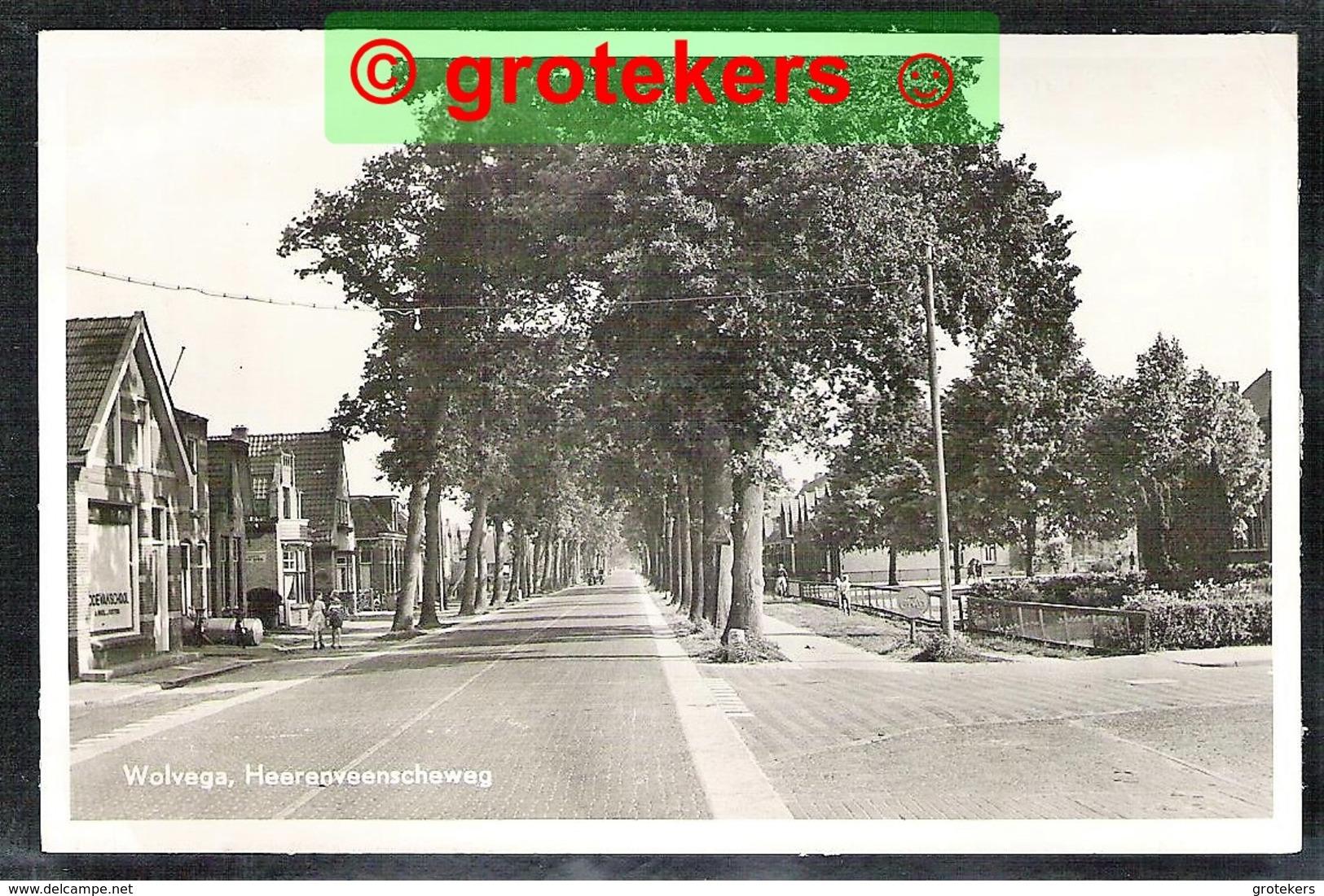 WOLVEGA Heerenveenscheweg 1951 - Wolvega