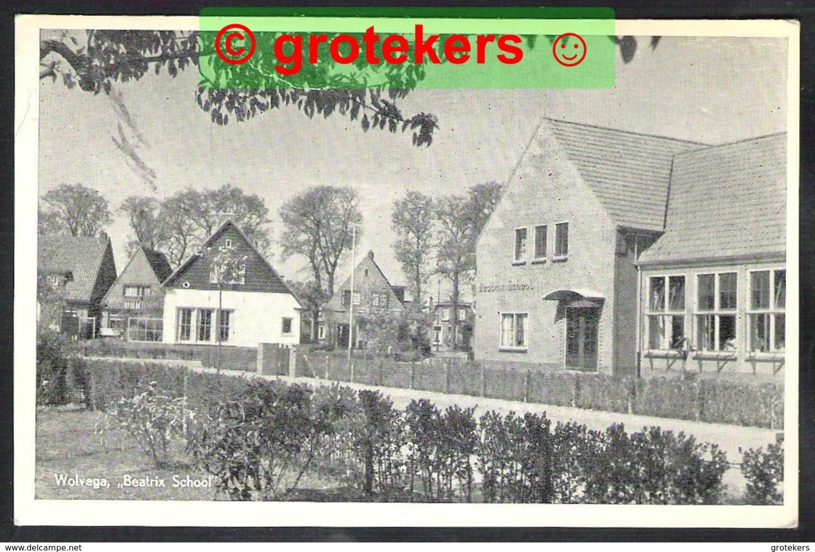 WOLVEGA Beatrix School 1960 - Wolvega