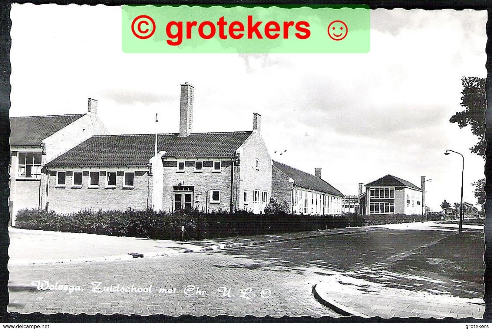 WOLVEGA Zuidschool Met Chr. ULO 1966 - Wolvega