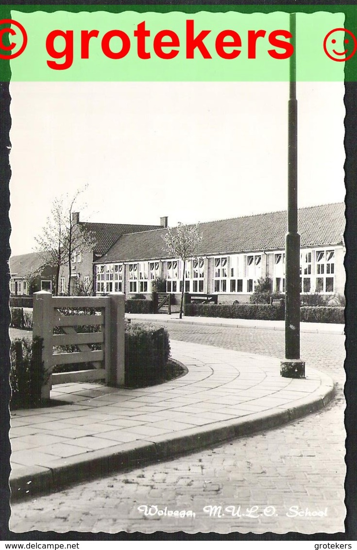 WOLVEGA M.U.L.O School Ca 1965 - Wolvega