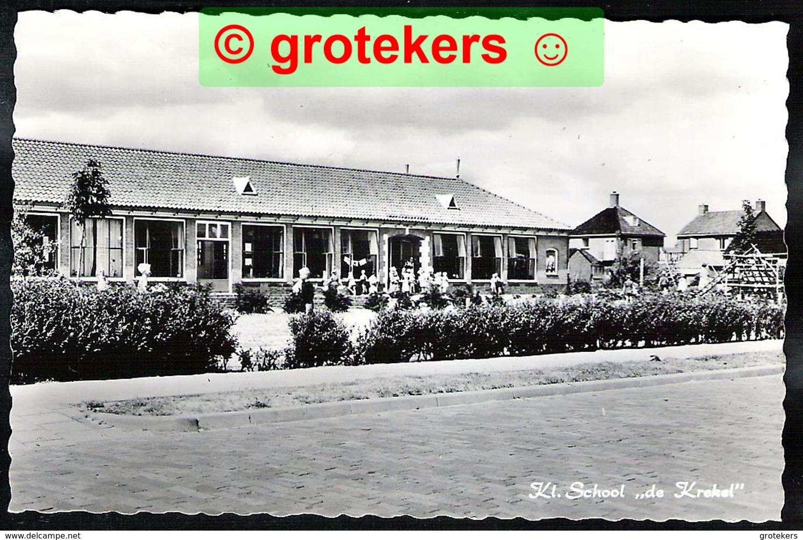 WOLVEGA Kleuterschool De Krekel 1961 - Wolvega