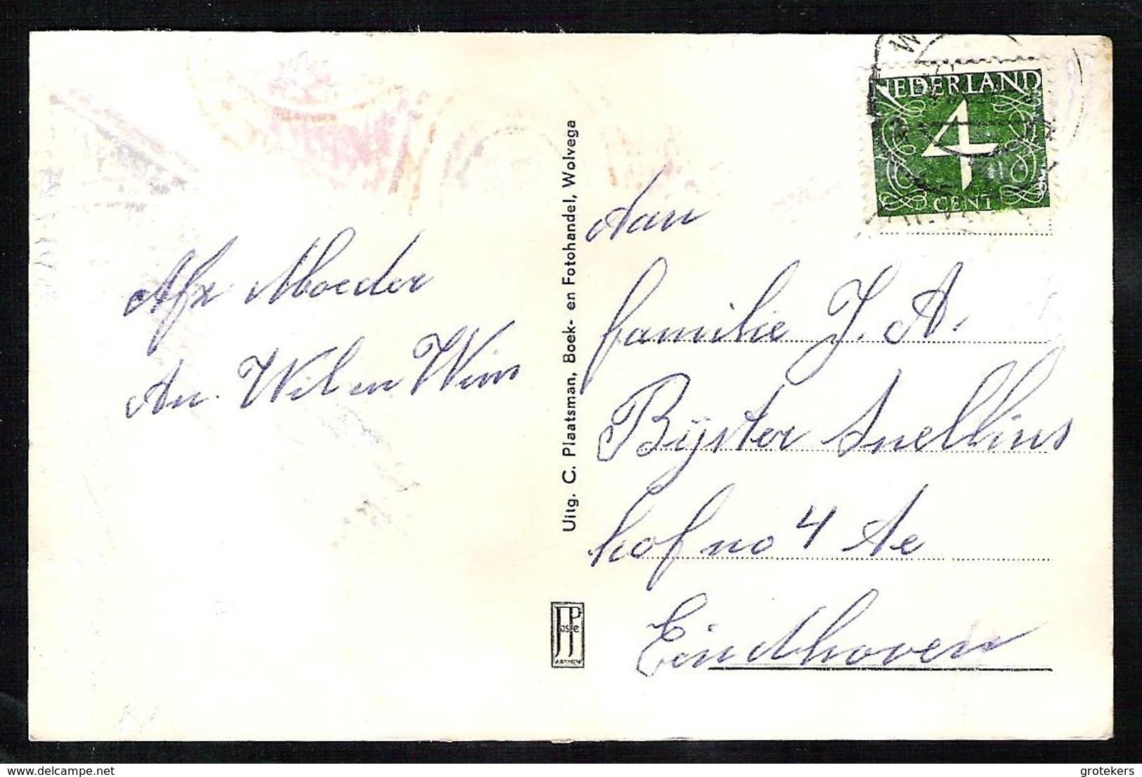 WOLVEGA Dhaliastraat (moet Zijn Dahliastraat) En Residastraat 1957 - Wolvega