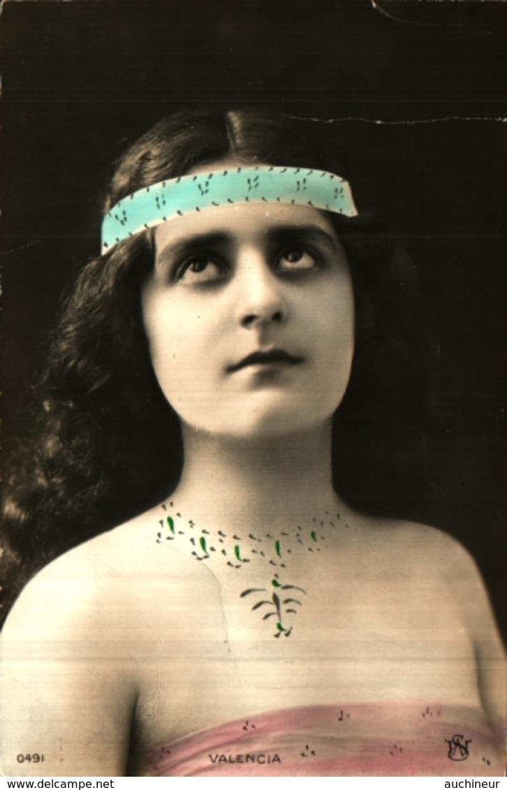Artiste Femme 1900 - Valencia (SW 0491) - Cabarets