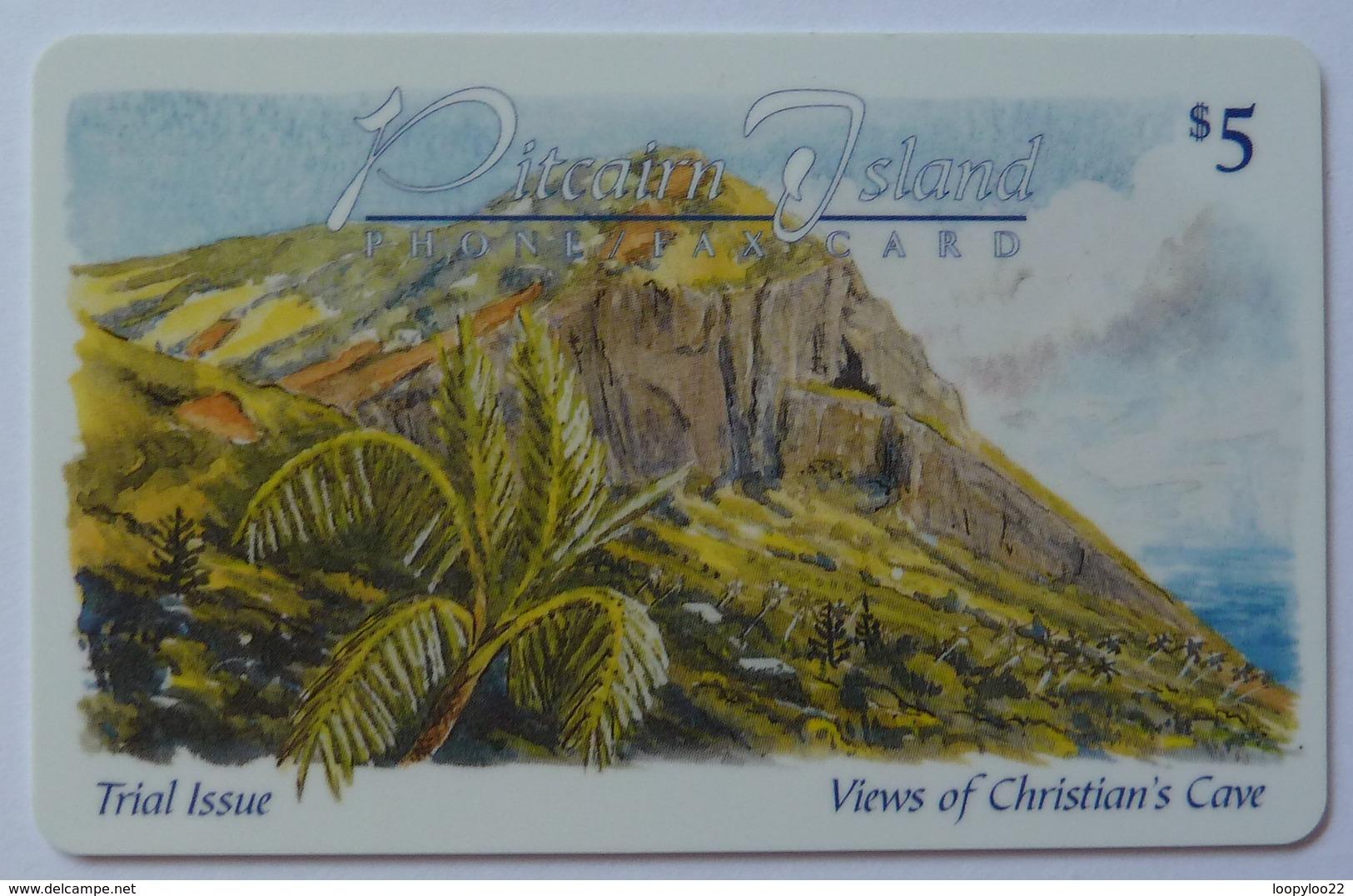 PITCAIRN ISLANDS - £5 - Trial - Views Of Christian's Cove - Mint - Pitcairn Islands