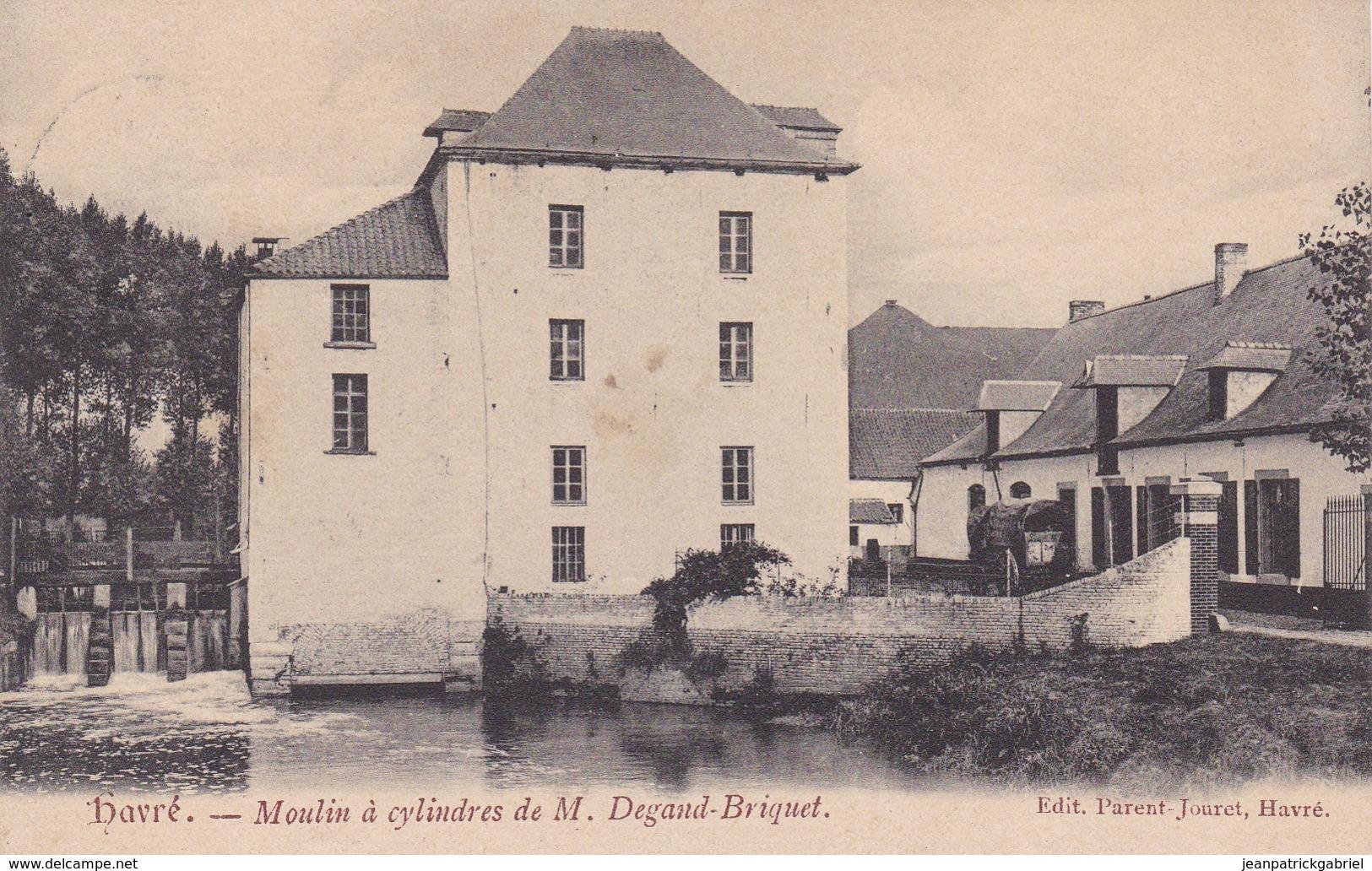 619 Havre Moulin A Cylindres De M Degand Briquet - Belgium