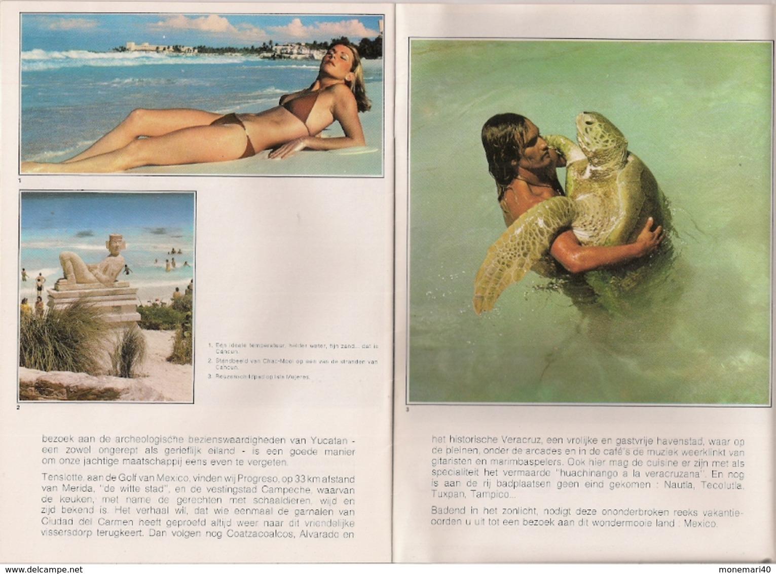 AMÉRIQUE DU NORD - MEXIQUE - PLAGES (STRANDEN) - Praktisch
