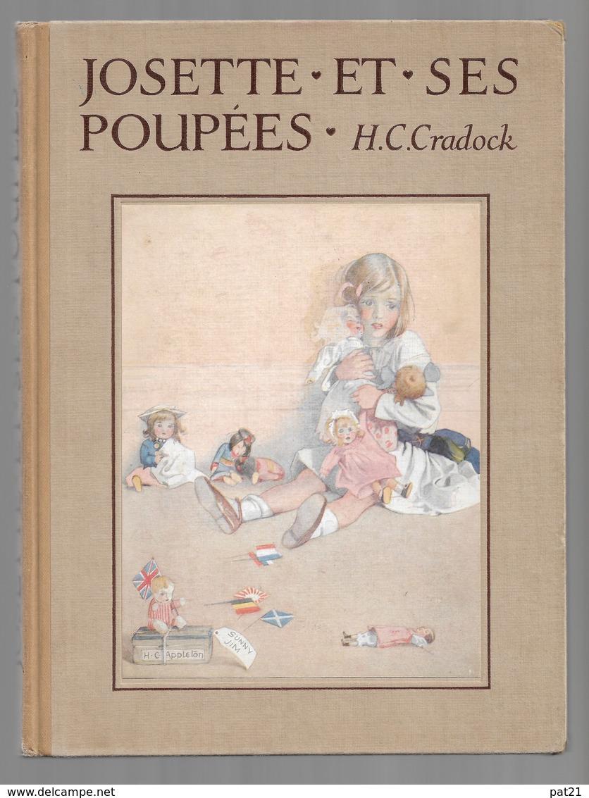 """""""JOSETTE Et Ses Poupées"""" De H.C.Cradock Ill H.C. Appleton      Nathan1937 - Books, Magazines, Comics"""