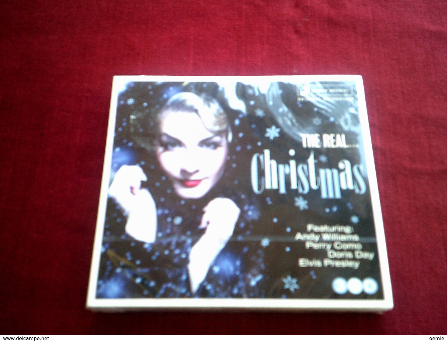 CHRISTMAS   DE ANDY WILLIAMS A ELVIS PRESLEY   COMPILATION DE 3 Cd 44 TITRES - Chants De Noel