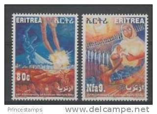 Eritrea (2011) - Set -  /  Martyrs Day - Eritrea