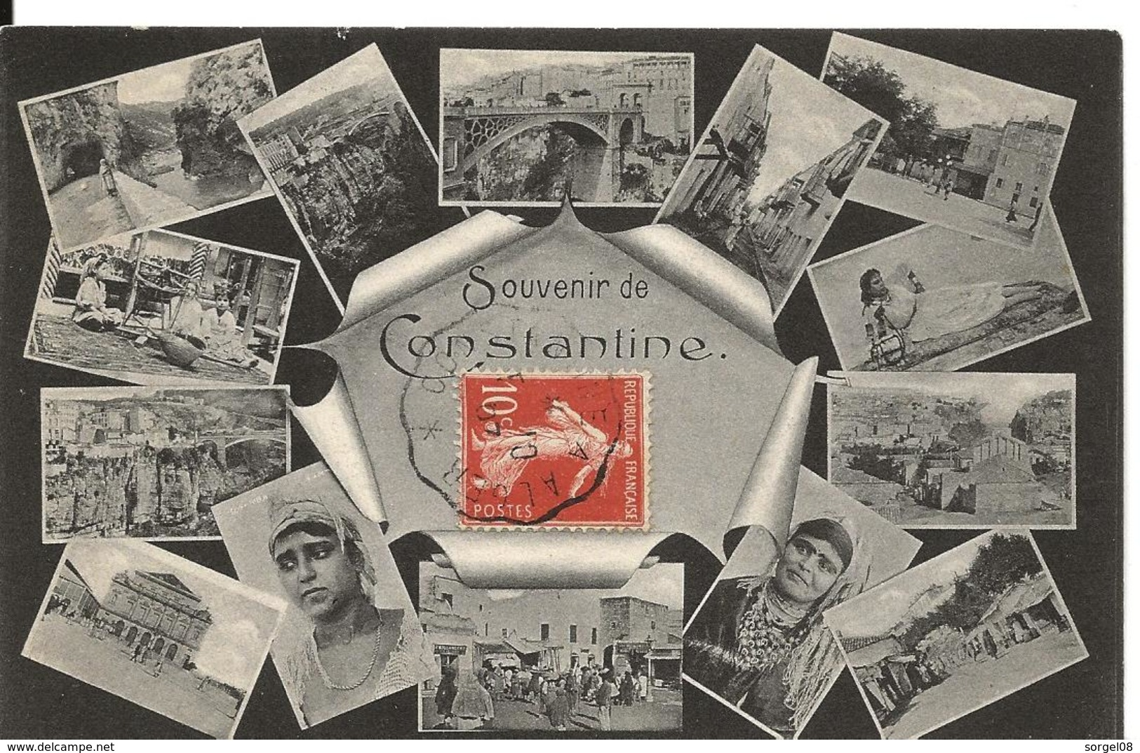 Algérie SOUVENIR DE CONSTANTINE - Constantine