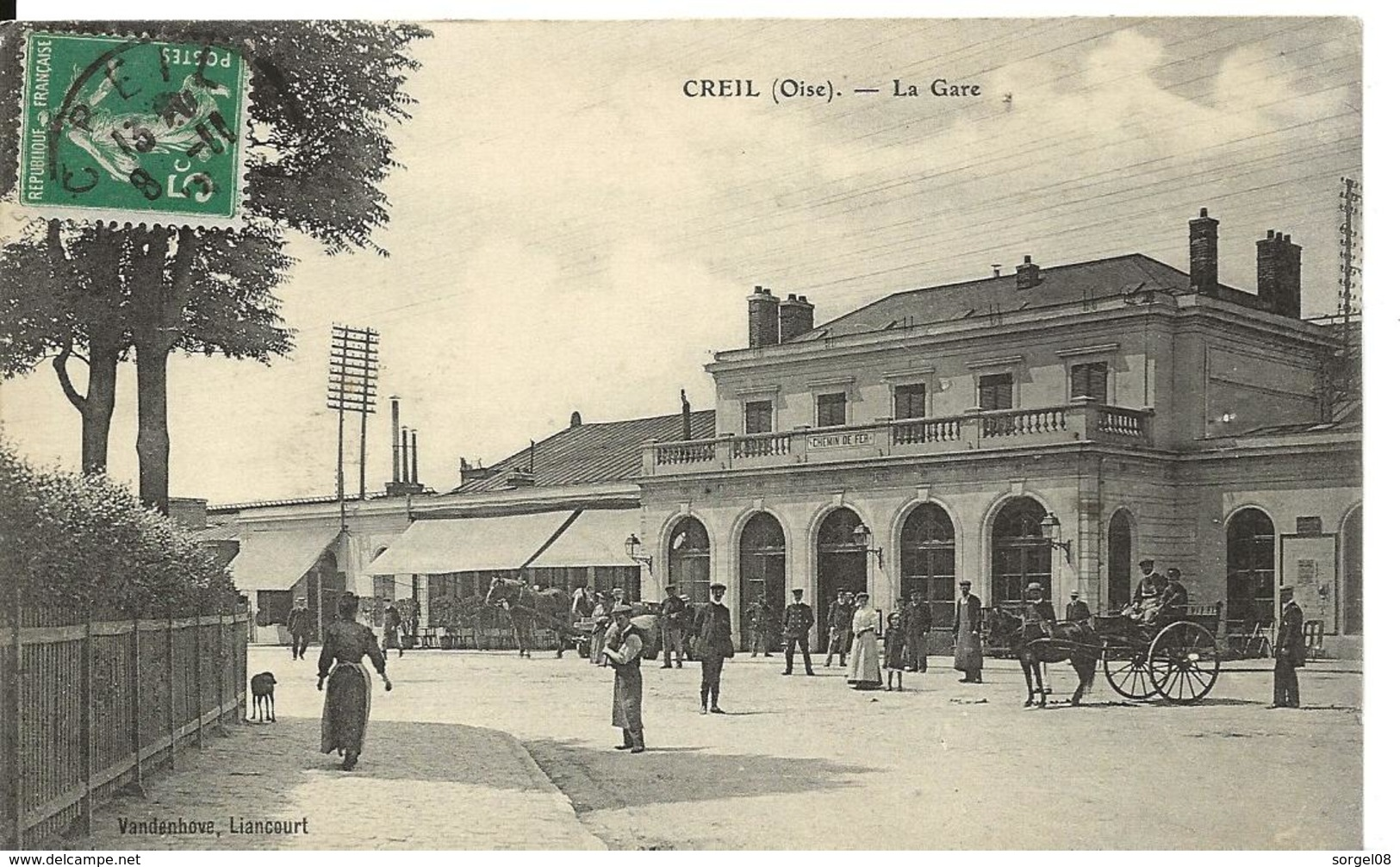 Oise CREIL La Gare Belle Animation - Creil