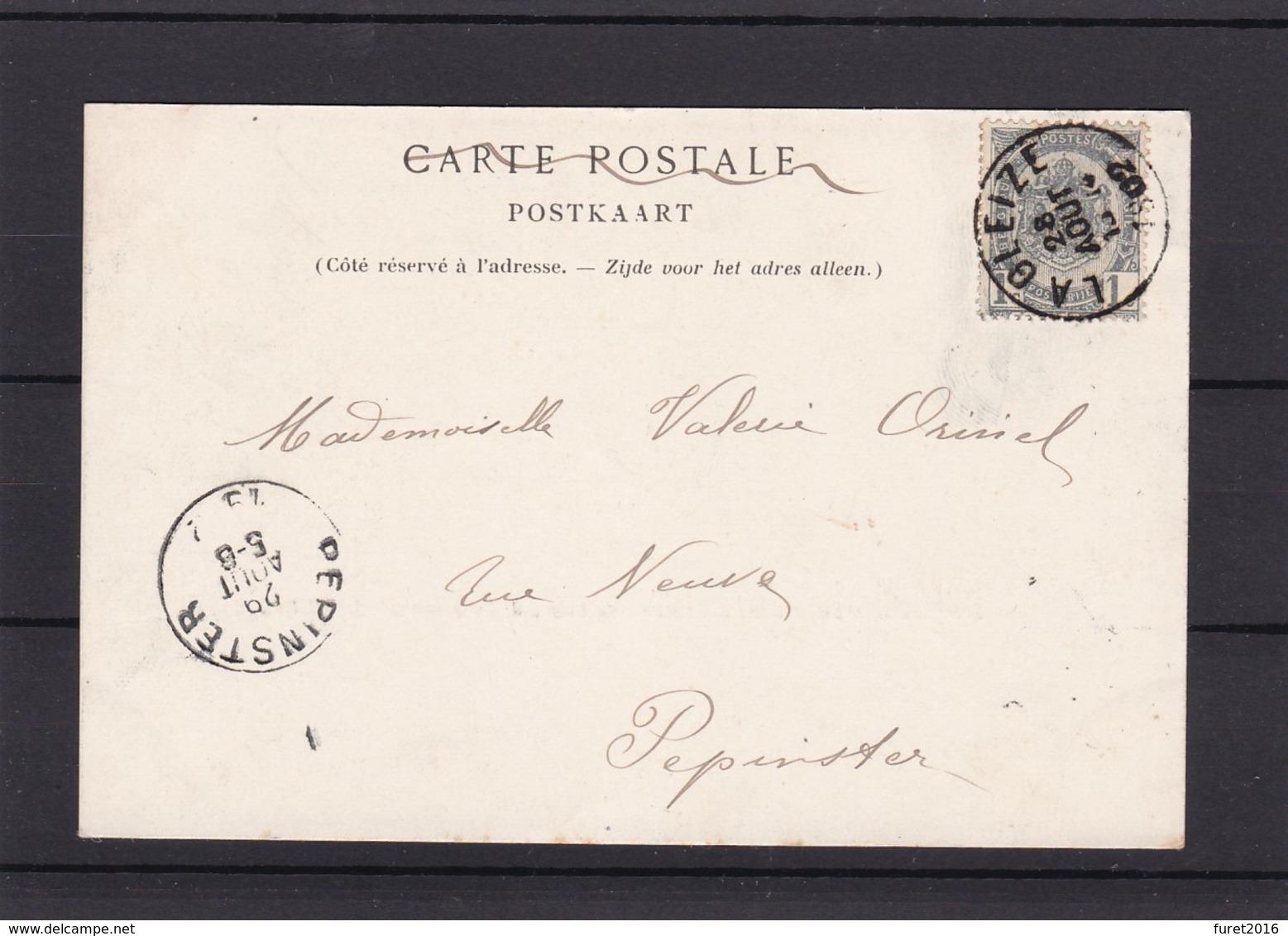 N° 53 / CP De LA GLEIZE - 1893-1907 Coat Of Arms