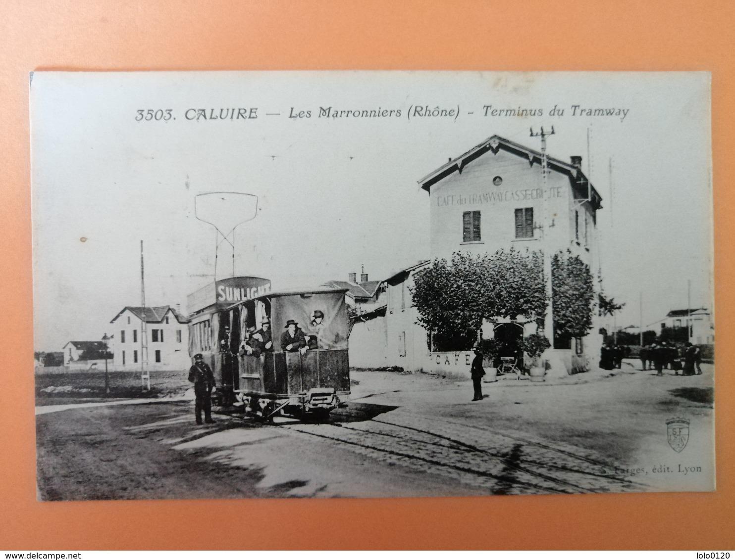 Caluire Les Marronniers Terminus Du Tramway - France