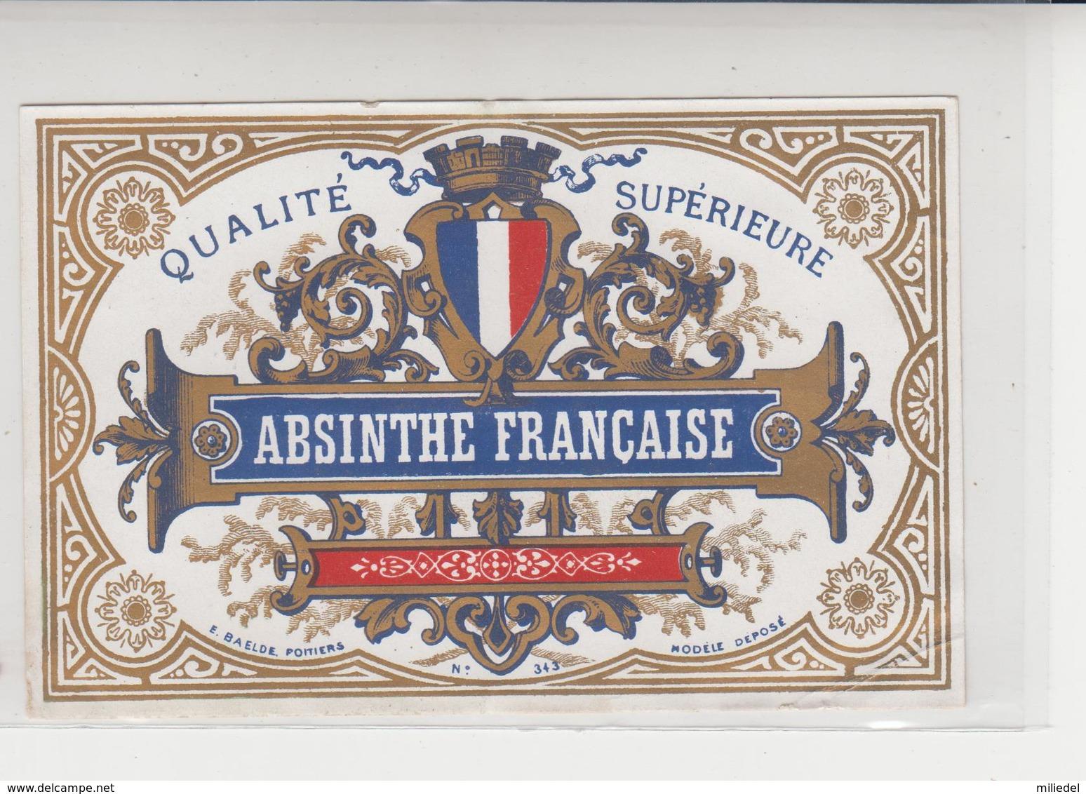 ET  004 /  ABSINTHE  FRANCAISE   / - Etiquettes