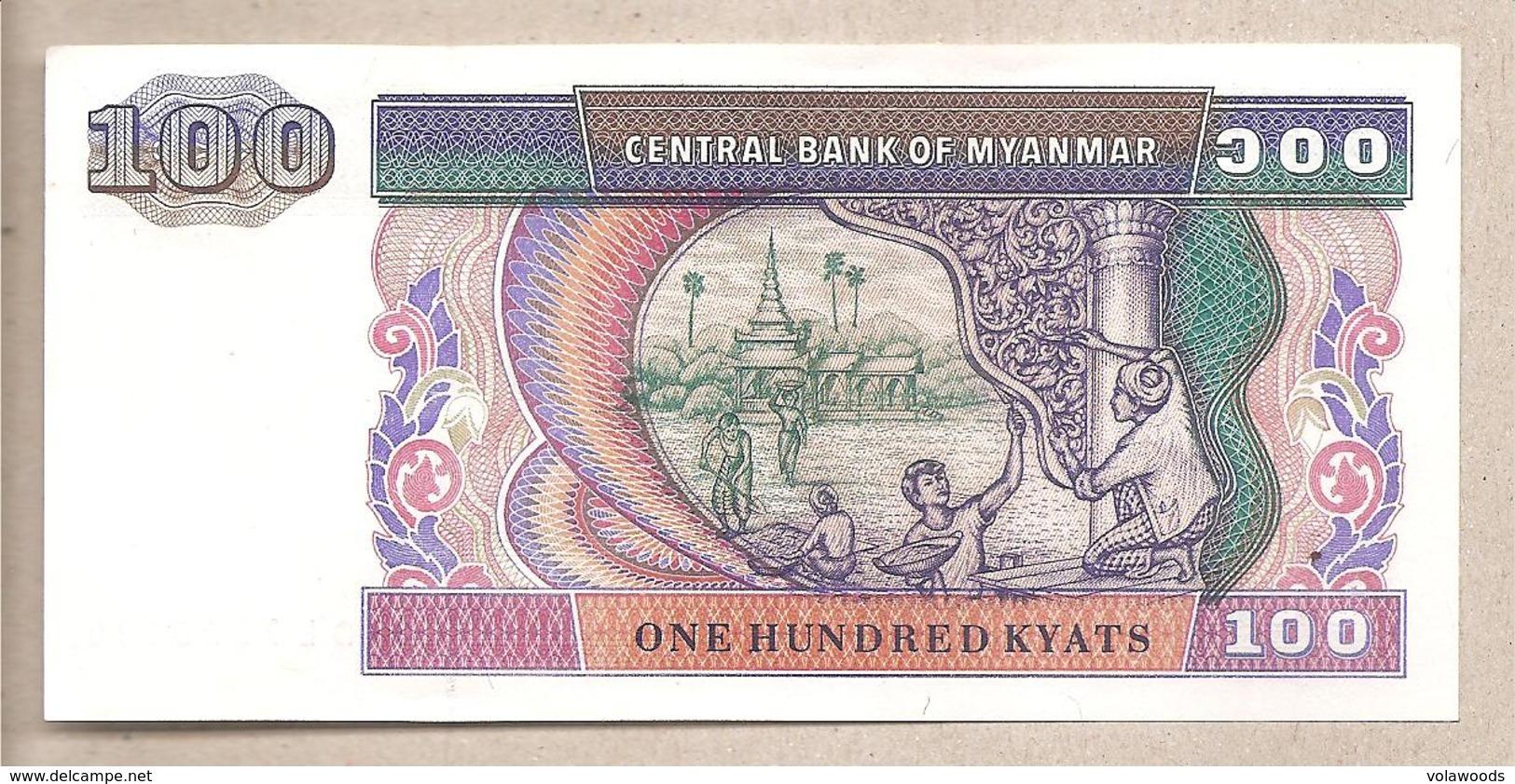 Myanmar - Banconota Non Circolata Da 100 Kyats P-74b - 1994 - Myanmar