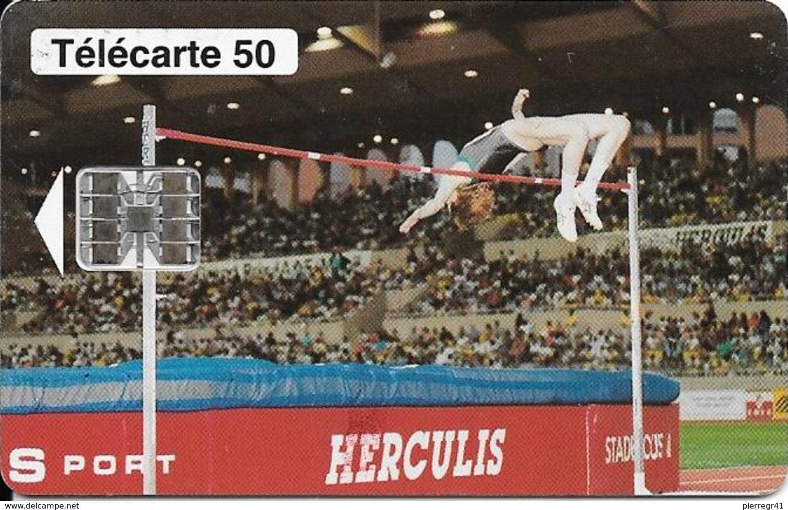 CARTE-PUBLIC-MONACO-MF30-50U-SC7-07/94-HERCULIS94-V° N° Série C47045822-UTILISE-TBE - Monaco