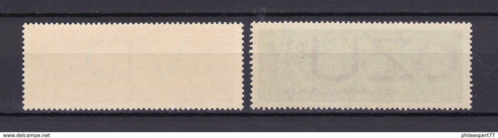 DDR - 1965/66 - Dienstmarken D/E - Michel Nr. 3 + 2 - Official