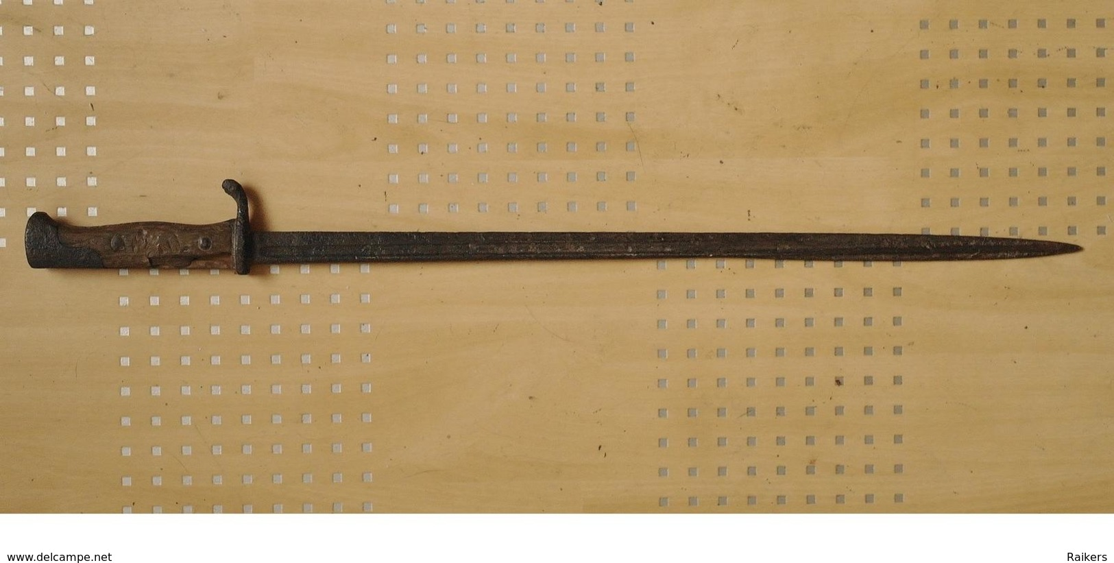 """Baïonnette Allemande S98 """"langue De Carpe"""" De 14/18 (PRIX DE DEPART EN BAISSE) - Knives/Swords"""