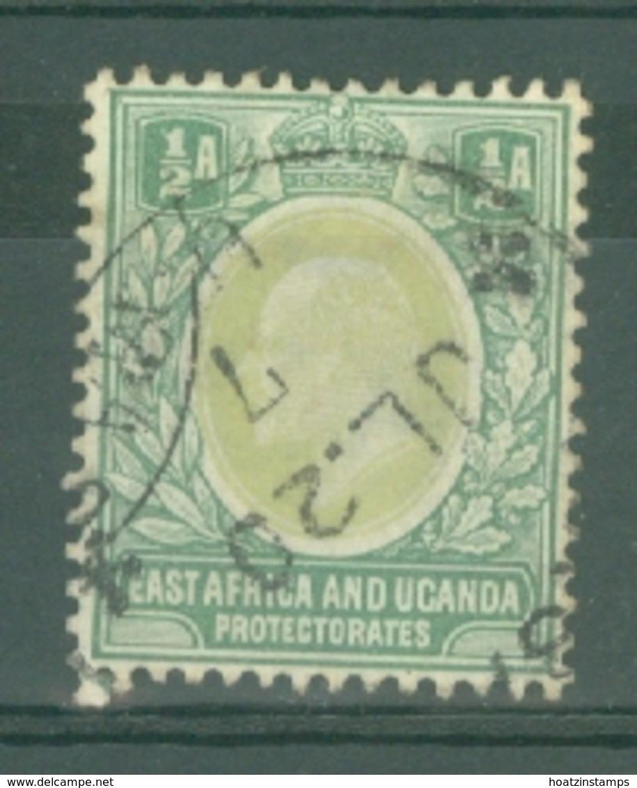 East Africa & Uganda Protectorates: 1904/07   Edward    SG17   ½a    Used - Protectorados De África Oriental Y Uganda